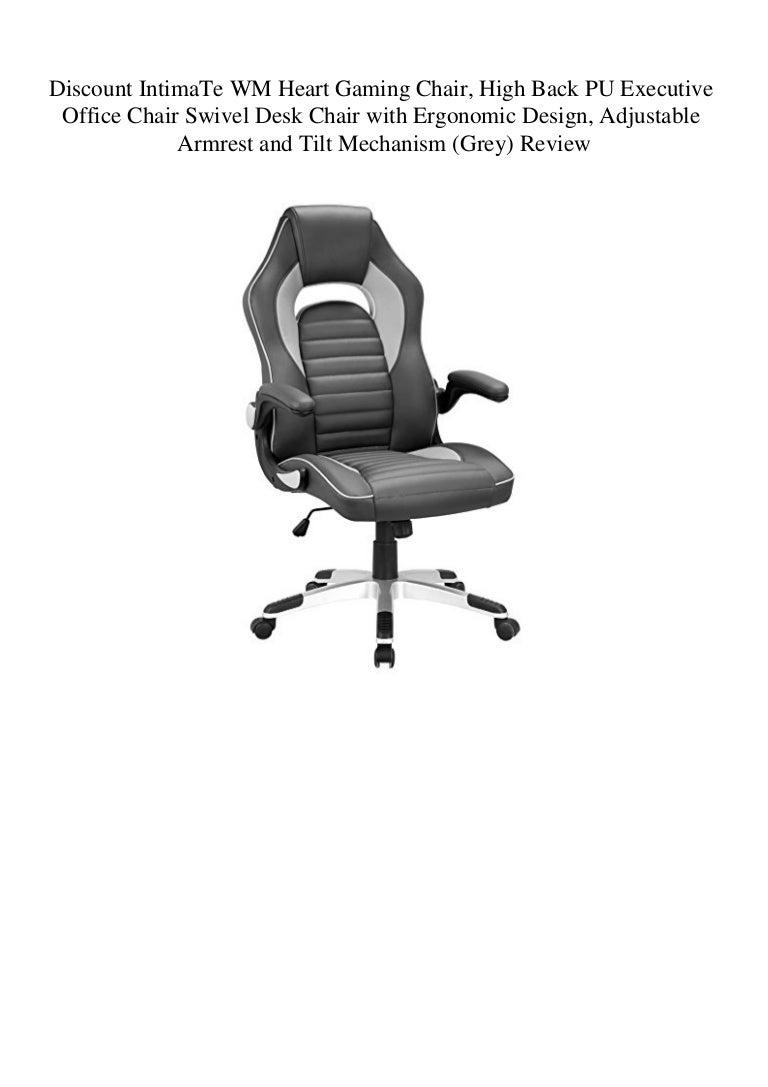 Terrific Discount Intimate Wm Heart Gaming Chair High Back Pu Machost Co Dining Chair Design Ideas Machostcouk