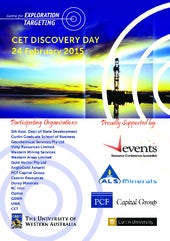 Discovery Day - 24 February 2015 - Centre for Exploration Targeting (Curtin University & University of Western Australia) - Rydges Hotel, Fremantle