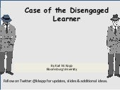 Distance Learning Conference 2020 The Quest for Engagement: Let the Games Begin: Keynote