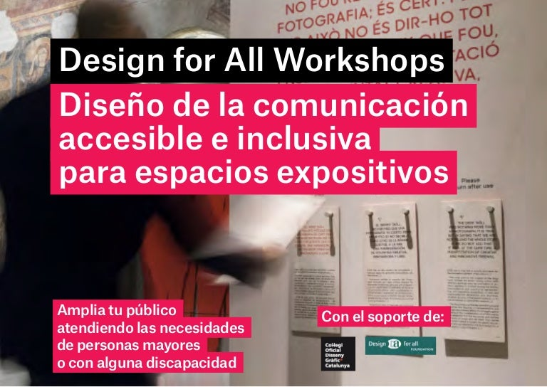 Diseño de exposiciones accesibles_Centro Cultural España en México