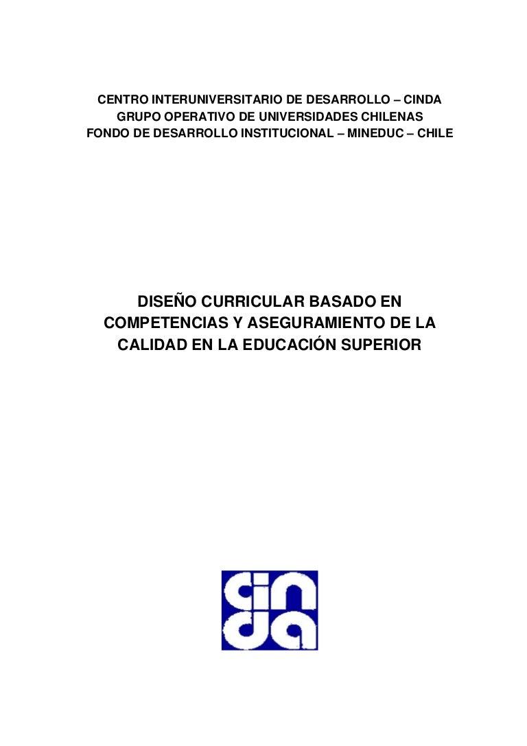 Diseño Curricular Superior. Chile