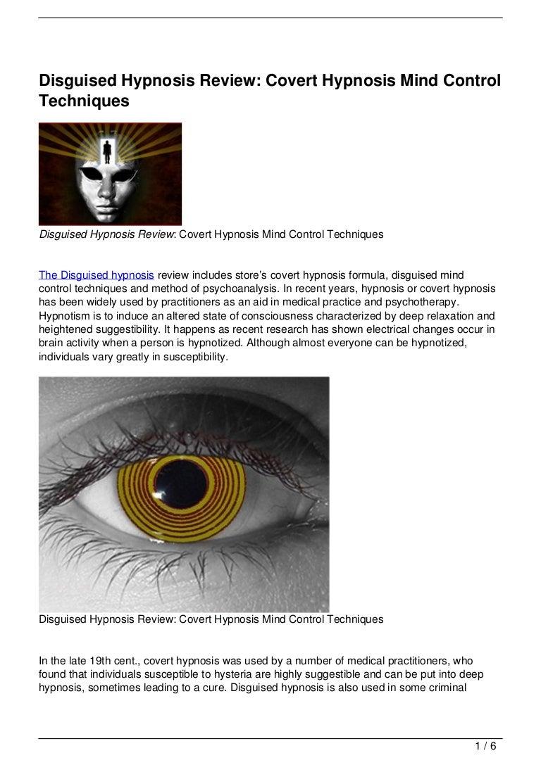 Mind control techniques - Mind Control Techniques 19