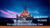 A case study of Disney Consumer Products