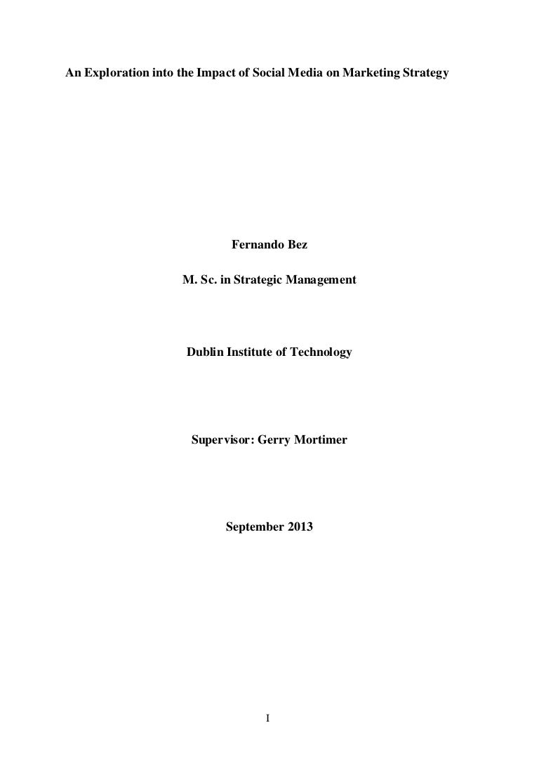 Dissertation fernando bez an exploration into the impact of socia hexwebz Gallery