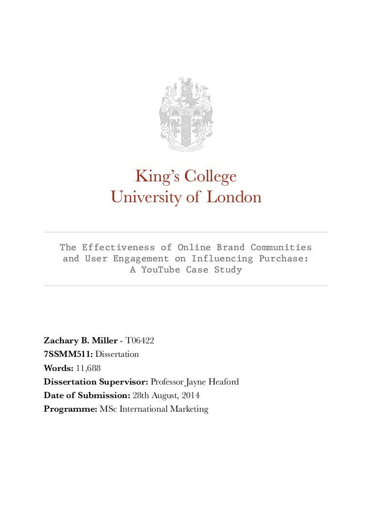 kcl submitting thesis