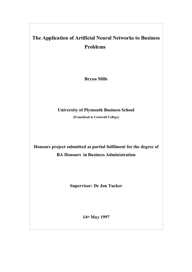 Thesis for master of education