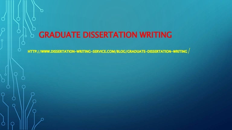 Research dissertation project management