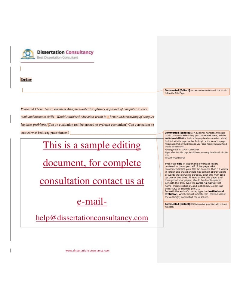 TOP 20 Dissertation Writing Services of