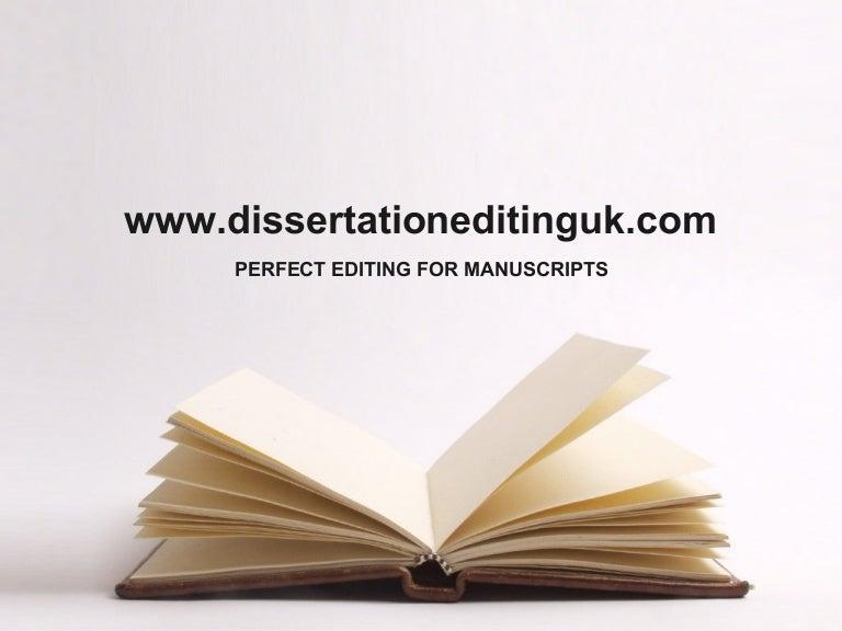 Dissertation editing sponsered