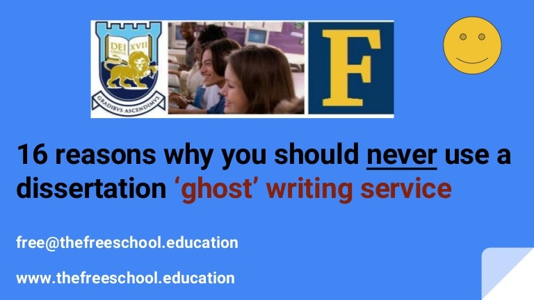 Ghostwriting assistance for your Dissertation