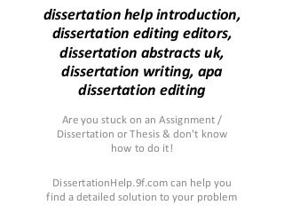 Dissertation Writing Consultants | Ethical assistance to help
