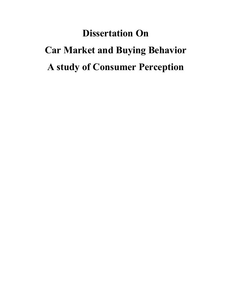 a study on consumer perception on Consumer satisfaction is the level of a person's felt state resulting from comparing a product's perceived performance (outcome) in relation to the person's expectations.