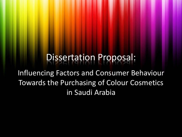 thesis proposal presentation sample