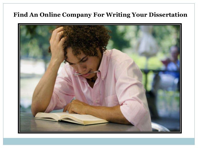 dissertation writing company