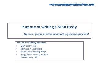 Dissertation help sponsered