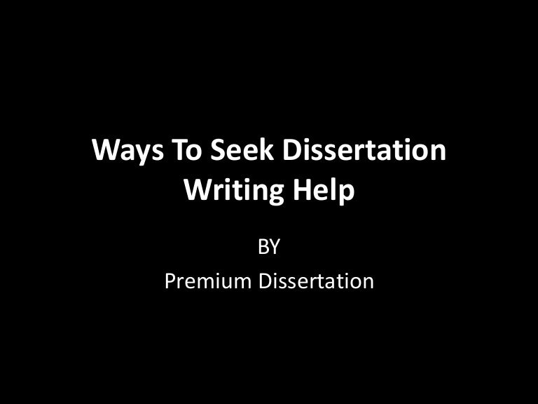 Help with dissertation writing obituary