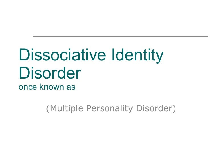 multiple personality disorder in the movie identity Artist kim noble talks about living with multiple personality disorder  artist kim noble talks about living with multiple personality disorder  50, has dissociative identity disorder (did.