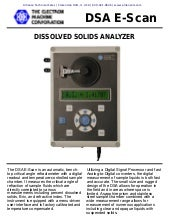 Dissolved Solids Analyzer Refractometer