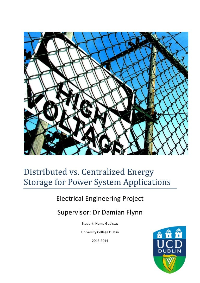 Distributed Vs Centralized Energy Storage For Power System Applicati Solar Cell Powered Supercapacitor Charger With Strange Output Voltage