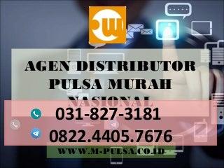 Distributor pulsa murah, Agen pulsa murah, bisnis pulsa murah MPULSA - 082244057676
