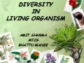 Diversity in living organisms....