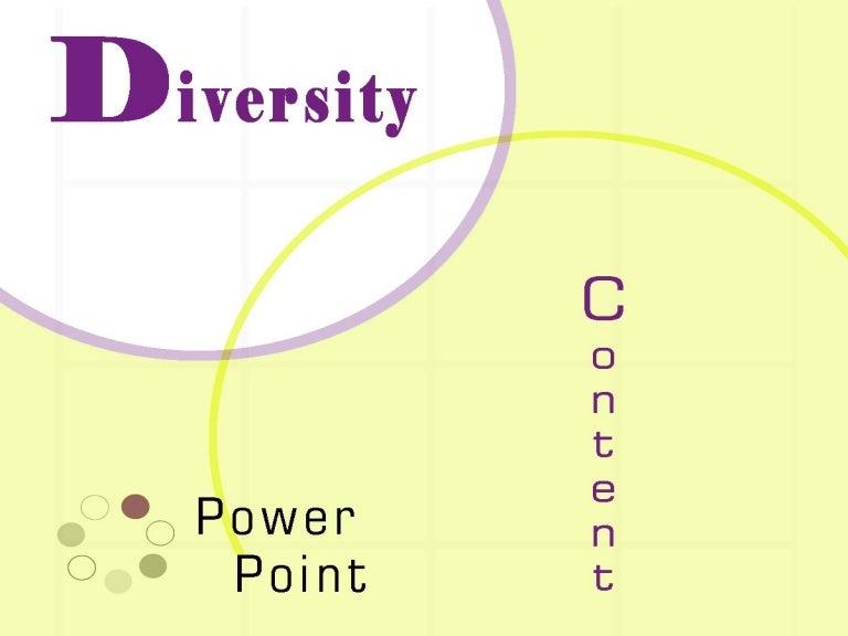 Diversity powerpoint toneelgroepblik Gallery