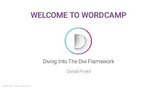 Crystal Picard at WordCamp Halifax 2017 - Diving into the Divi Framework