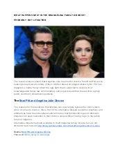 Divorce: Brad Pitt Angelina Jolie