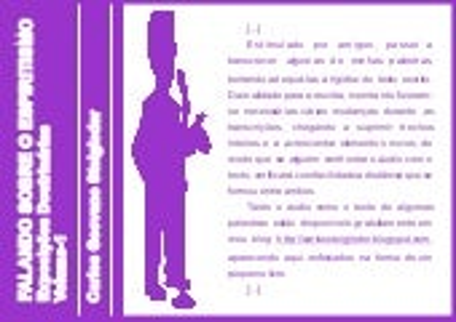 FALANDO SOBRE O ESPIRITISMO - VOLUME 1