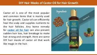 DIY Hair Masks of Castor Oil for Hair Growth
