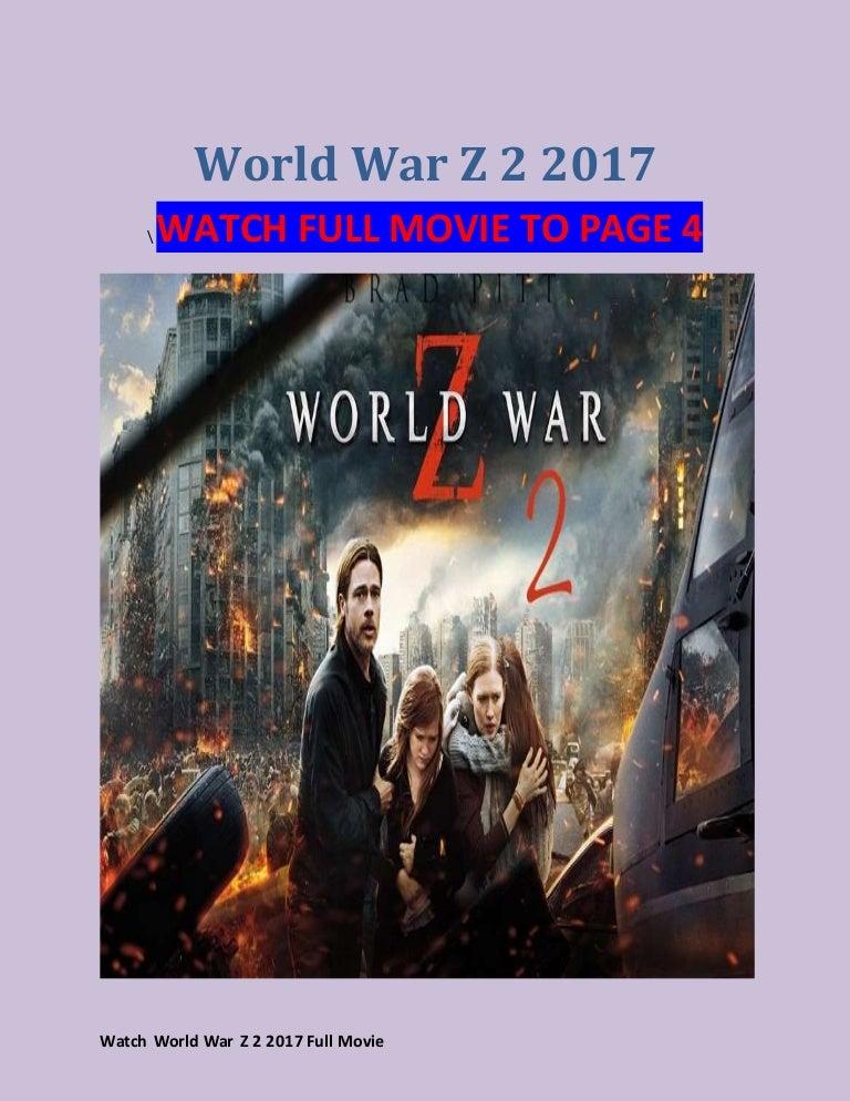 World War Z Streaming