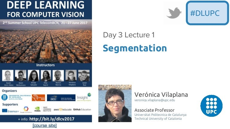 Image Segmentation (D3L1 2017 UPC Deep Learning for Computer Vision)