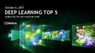share and discover knowledge on linkedin slidesharetop 5 deep learning and ai stories october 6, 2017