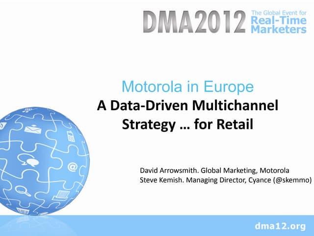 Multichannel B2B marketing in Europe