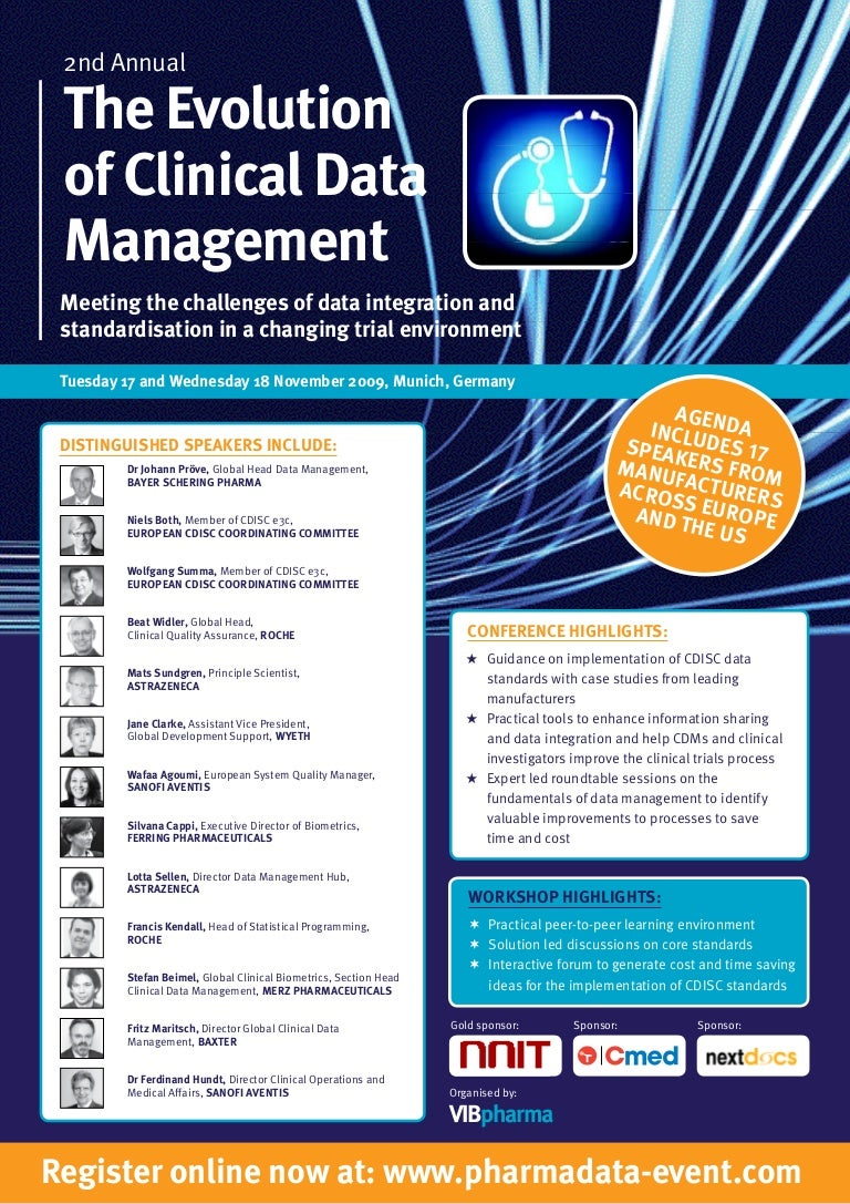The Evolution of Clinical Data Management