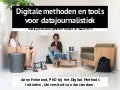 Digital Methods and Tools for Hacking Journalism