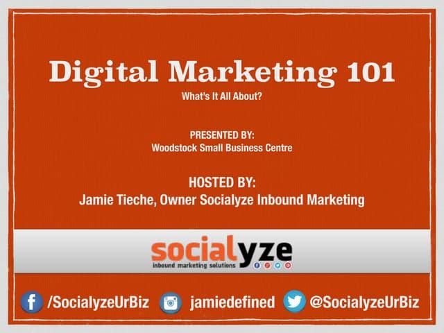 Digital Marketing Overview 2015