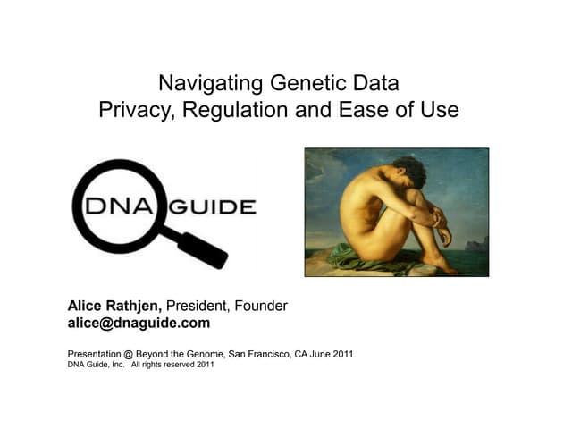 DNA Guide - Full Genome Molecular Diagnostics Platform