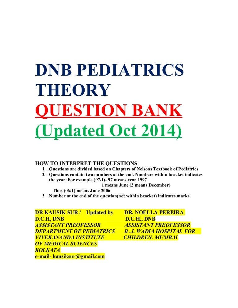 Pediatric Nephrology Mcq Bank