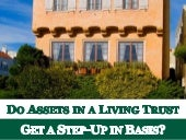 Do Assets In A Living Trust Get A Step-Up in Basis
