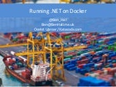 Running .NET on Docker