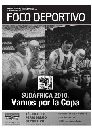 Estudiá Periodismo Deportivo en River: Diario Foco Deportivo 2010