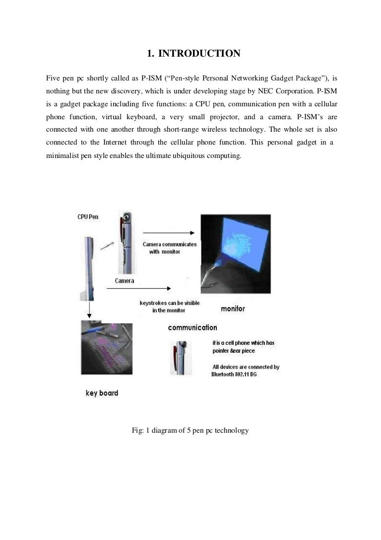 doc of  pen pc technology, wiring diagram