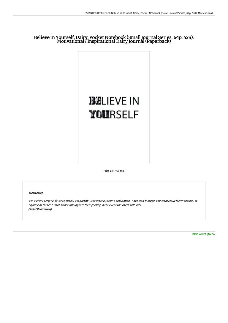 docs believe in yourself dairy pocket notebook small 9781535413749 210928043448 thumbnail 4