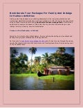 Book Kerala Tour Packages For Family And Indulge In Various Activities