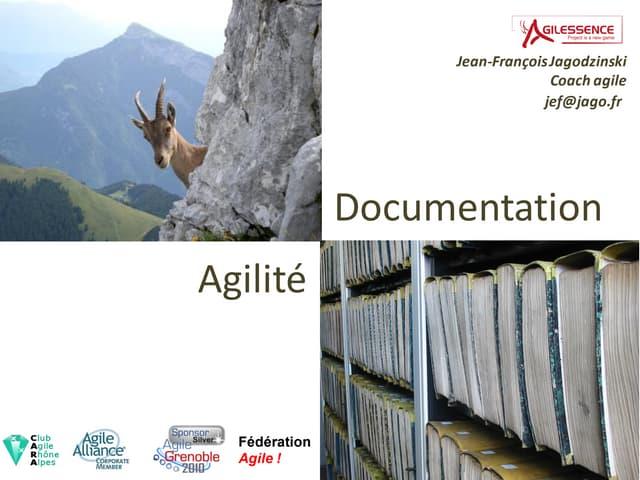 Documentation et agilité publi