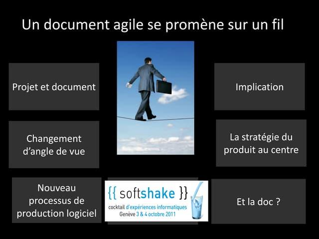Documentation et agilité public