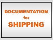 Documentation for SHIPPING Art and Craft
