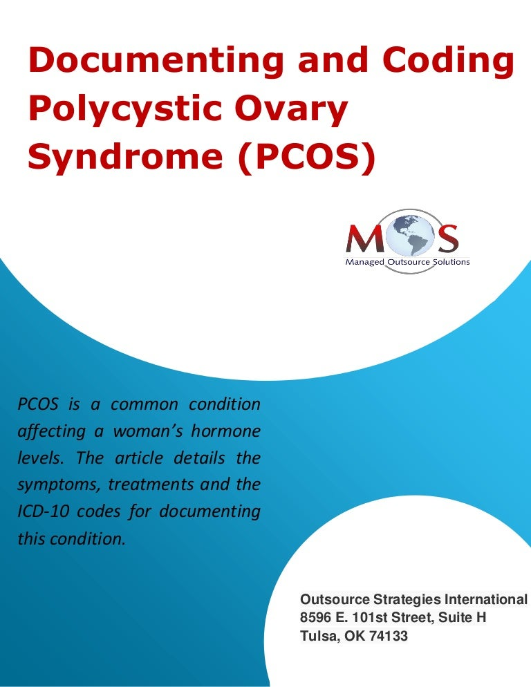 Documenting And Coding Polycystic Ovary Syndrome Pcos