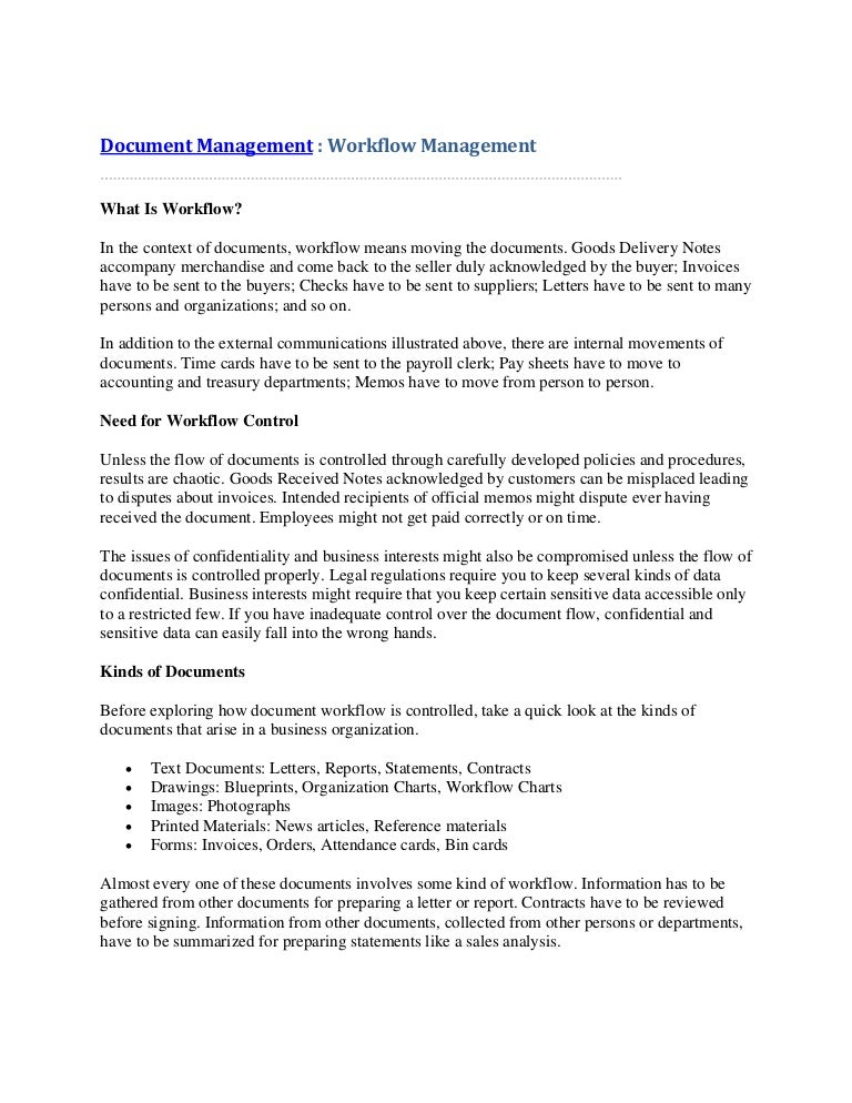 Document management workflow management malvernweather